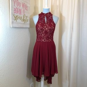 Holiday Party Dress Speechless Sequin Lace Size 11